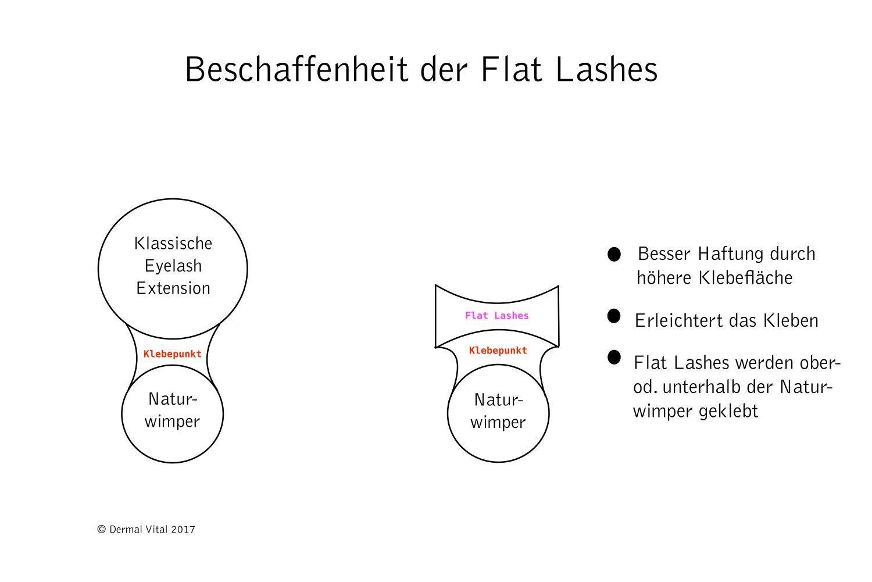 Blogartikel - Silk Lashes versus Flat Lashes