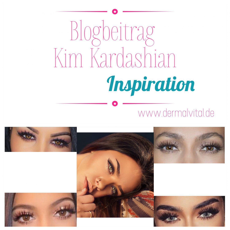 Blogartikel - Kim Kardashian Look | Inspiration | Wimpernverlängerung