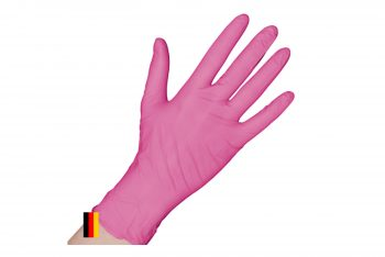 Einweghandschuhe puderfrei rosa