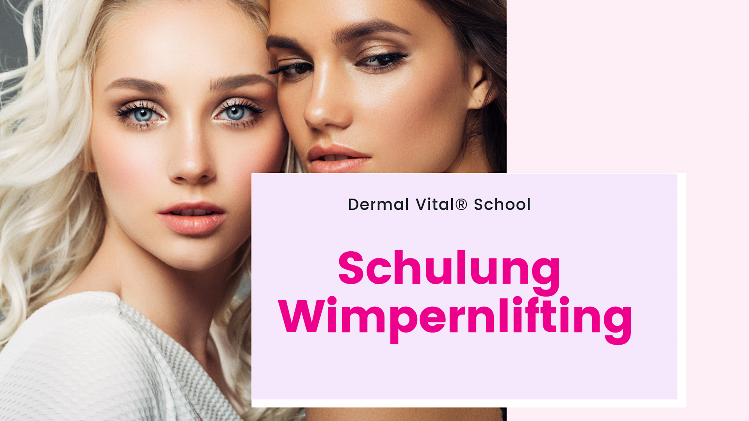 Wimpernlifting Schulung