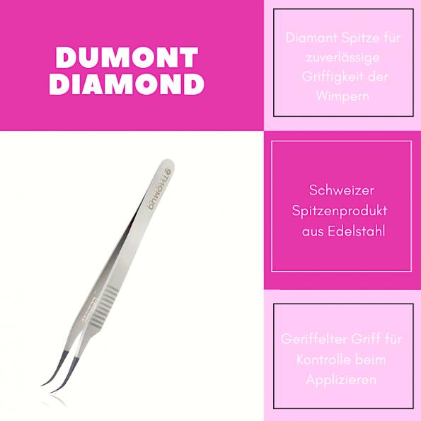 Vorteile der Volumepinzette Dumont 7DSP