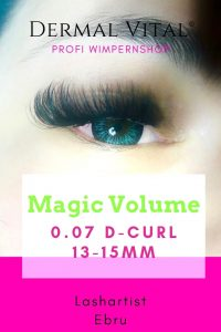 Magic Volume Lashes in 0.07 D