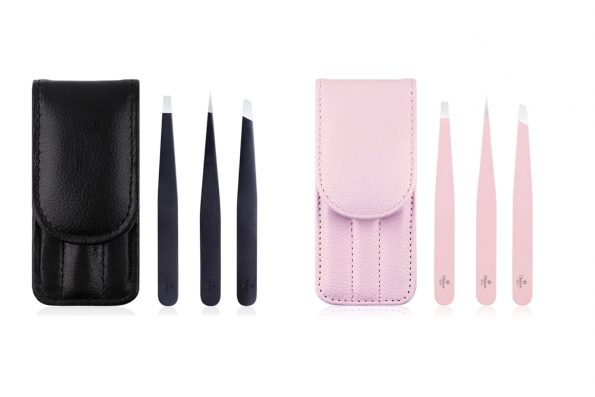 Brow Pinzetten mit Etui in zwei Farben