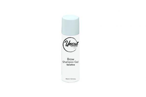 Eine Flasche Eyebrow Shampoo für Brow Henna