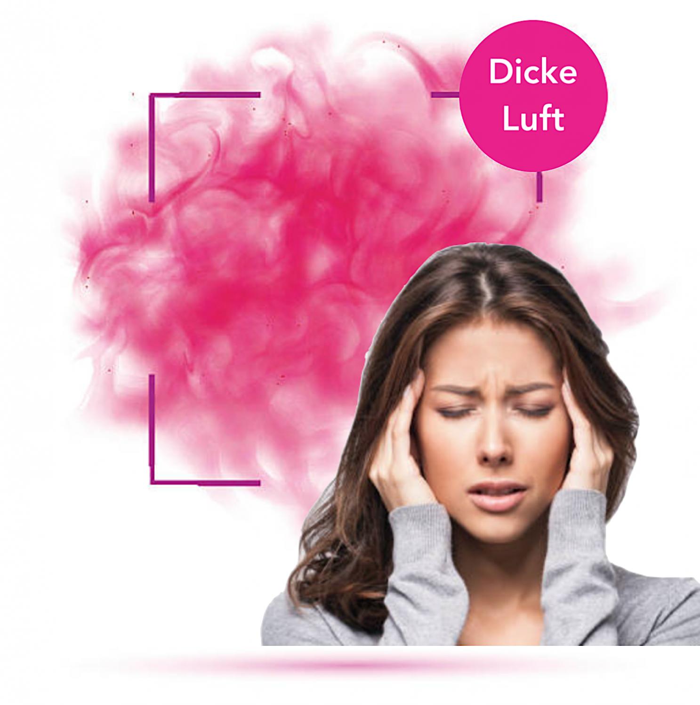 Frontbild - BlogNews Dicke Luft Haftbarkeit des Wimpernklebers