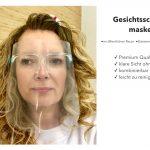 Gesichtsschutzmaske, Farbe transparent
