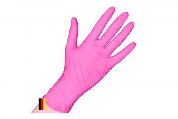Einmalhandschuhe Nitril puderfrei pink