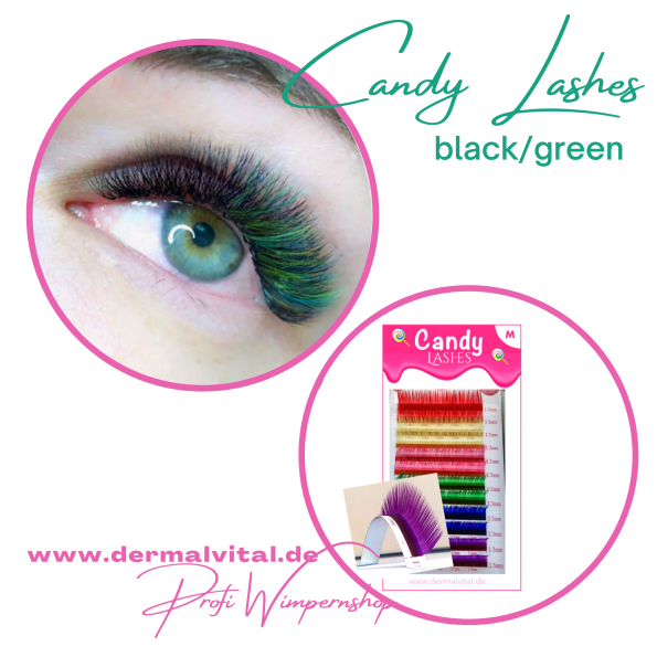 Candy Lashes, Colored Lashes