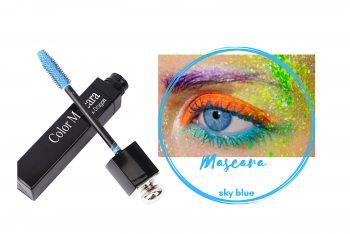 Mascara wasserfest farbig