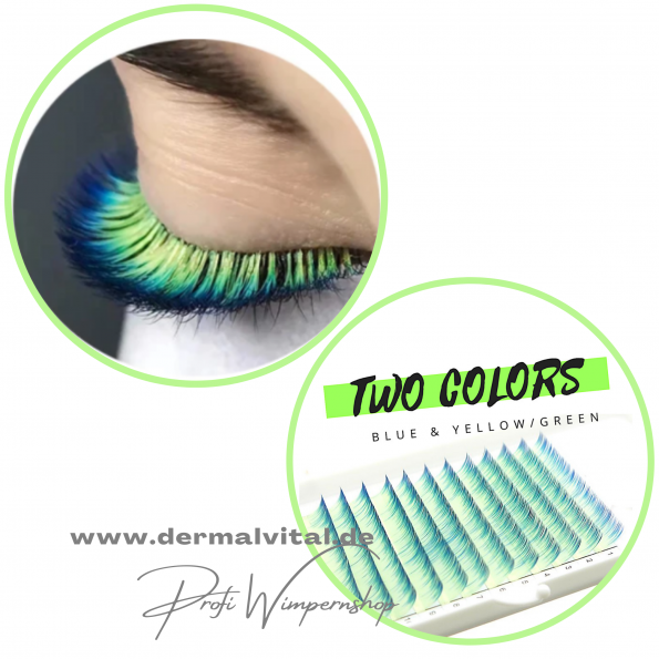 Farbwimpern, Colored Lashes