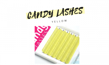 Yellow Lashes Candy Lashes