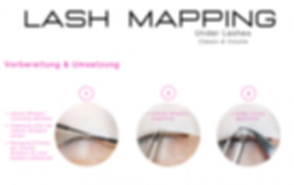Under Lashes, Lashmapping